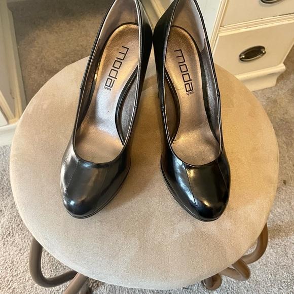 "Moda Spana Black 3"" Heels"